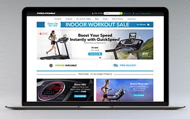 ProForm Fitness store front