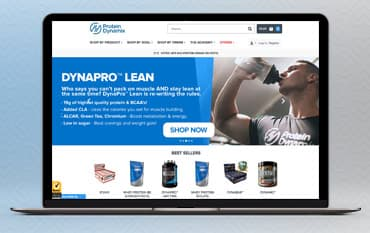 Protein Dynamix store front