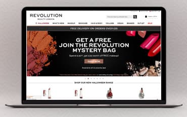 Revolution Beauty store front