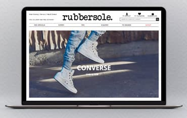 RubberSole store front