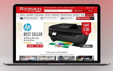 Ryman store front