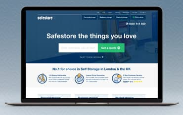 Safestore store front
