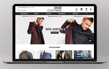 Sage Clothing store front