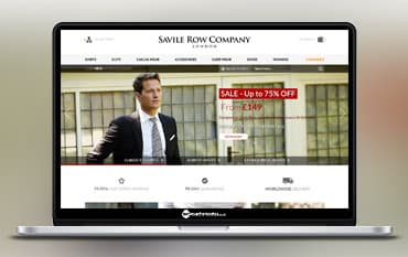 Savile Row Company store front
