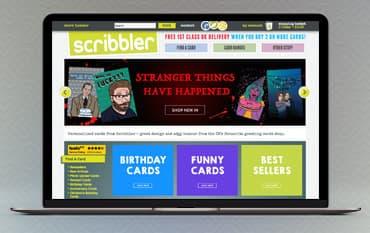 Scribbler store front