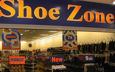 Shoe Zone store front