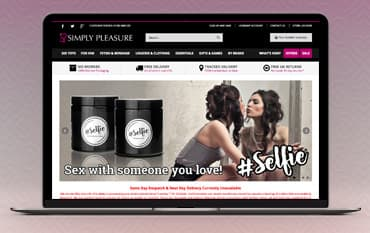 Simply Pleasure store front