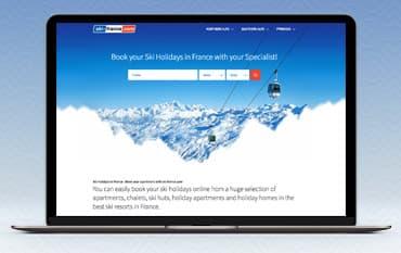 Ski France store front