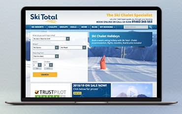 Ski Total store front