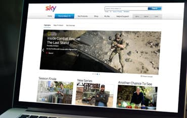 Sky Digital store front