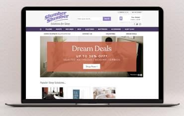 Slumber Slumber store front