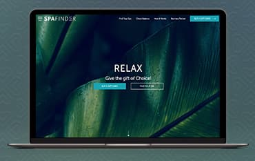 Spafinder store front