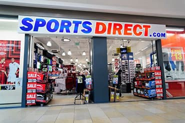 Sportsdirect.com store front