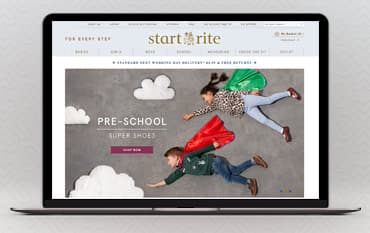 Start-rite Shoes store front