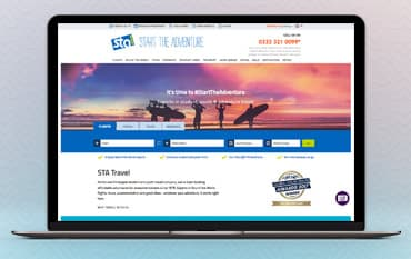 STA Travel UK store front