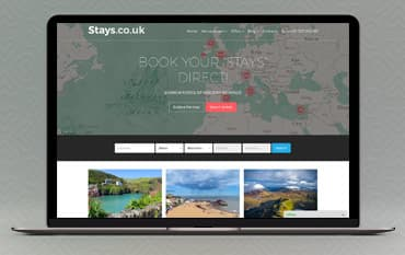 Stays.co.uk store front