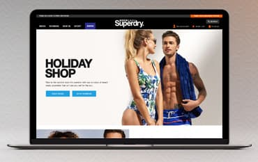 Superdry store front