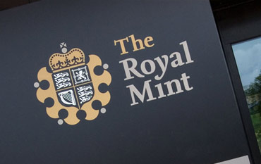The Royal Mint store front