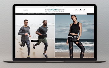 The Sports Edit store front
