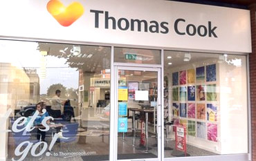 Thomas Cook store front