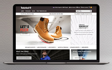 Timberland store front