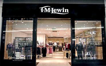 TM Lewin store front