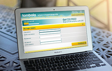 Tombola store front