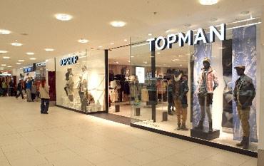 Topman store front
