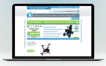 UK Sports Imports Ltd store front