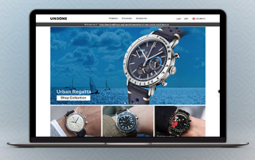 UNDONE Watches store front