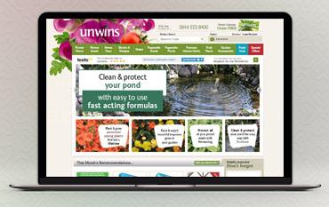Unwins store front