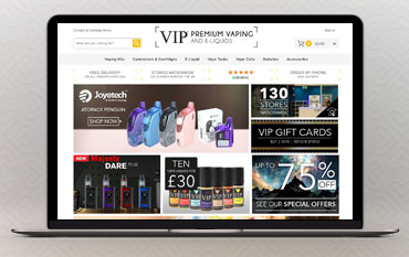 VIP Electronic Cigarette store front