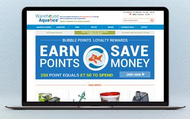 Warehouse Aquatics store front