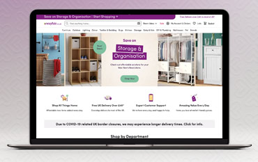 Wayfair store front