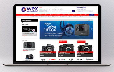 wex photographic store front
