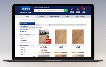 Wickes store front