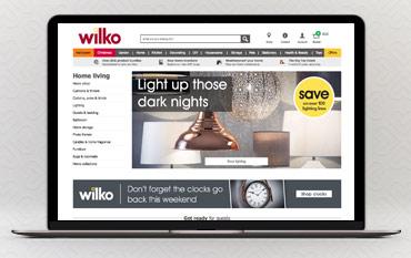 Wilko.com store front