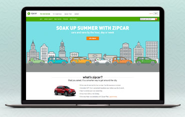 Zipcar store front
